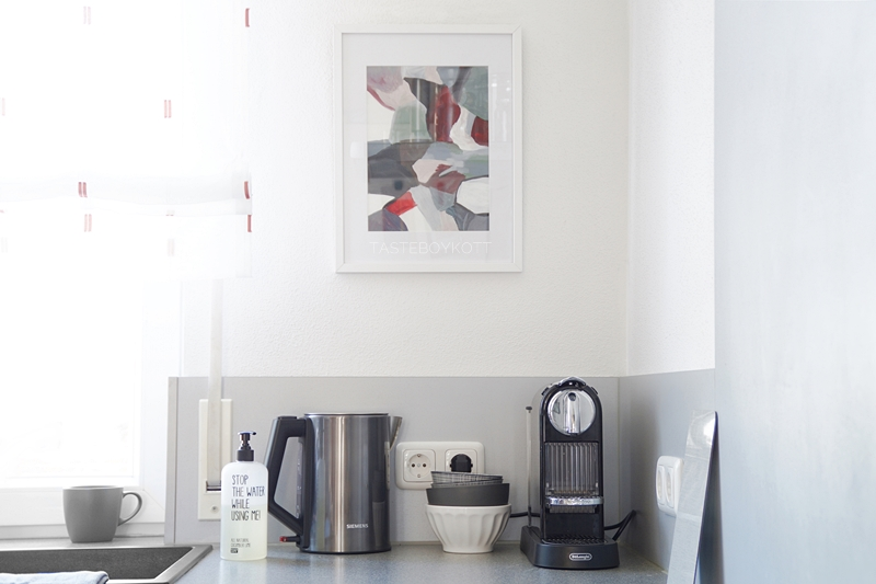 Neue Kunst für die Küche - Tasteboykott