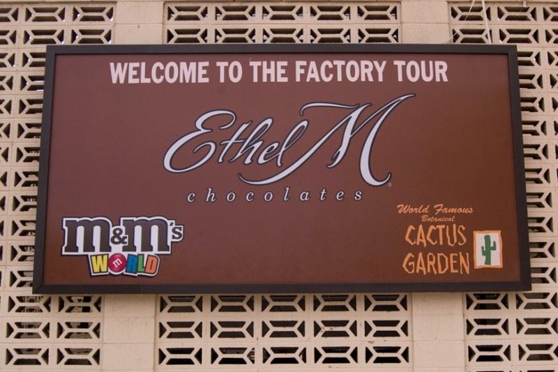 Ethel M Chocolates in Vegas