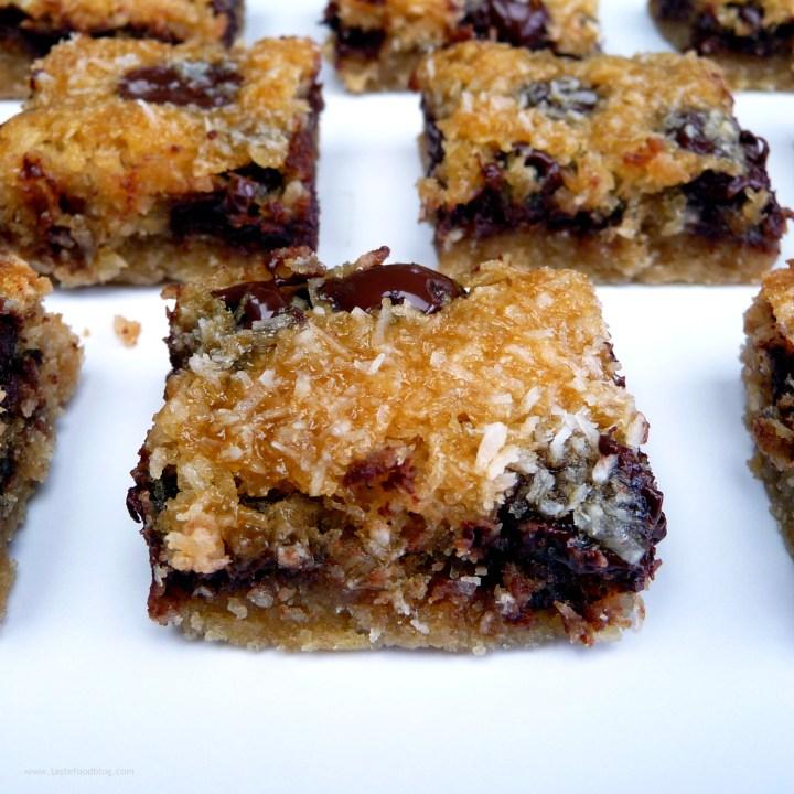 Easy Weekend Baking: Chocolate Coconut Cookie Bars