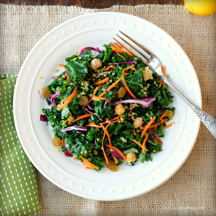 Cooking for Your Health: Kale and Quinoa Salad