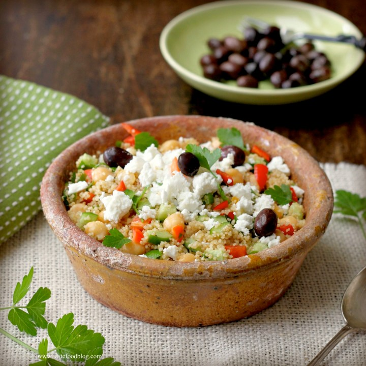 Cooking for your Health: Greek Couscous Salad