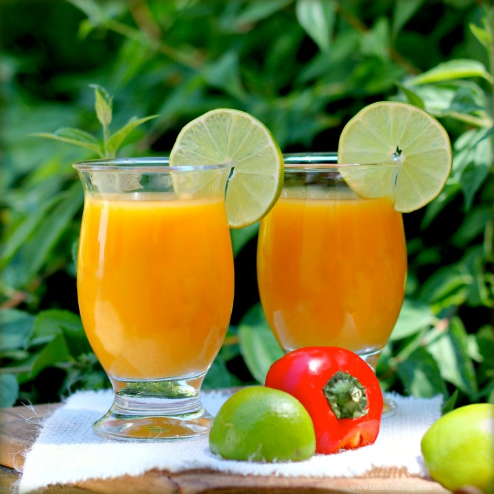 Cooking for your Health: Mango Smoothie with Chili and Lime