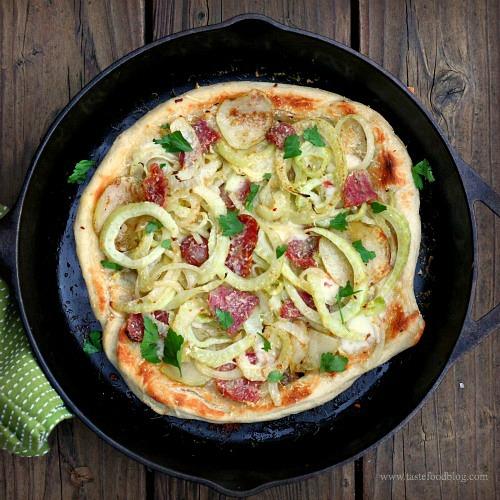 fennel pizza tastefood