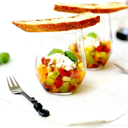 tomato tartare verrines tastefood