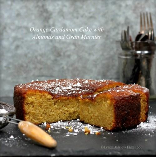 Orange almond cake tastefood