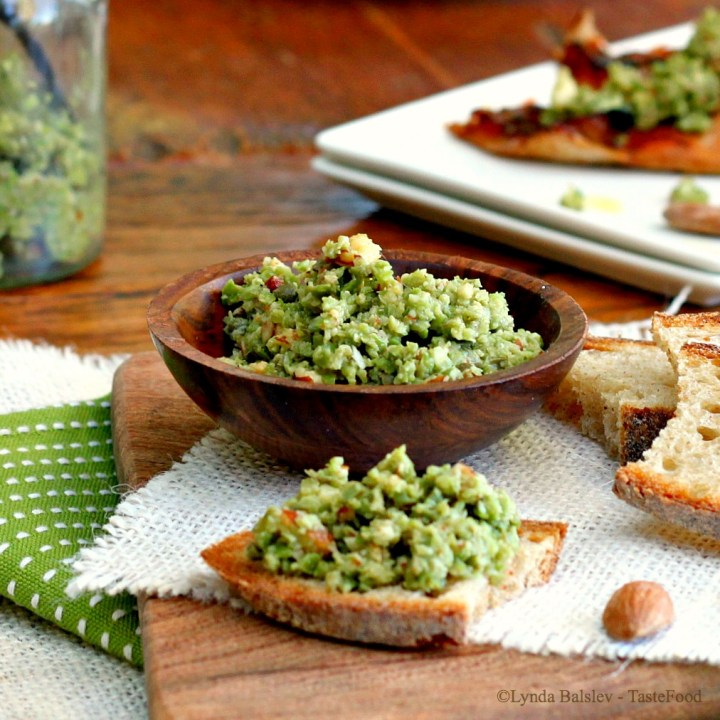 green olive tapenade tastefood