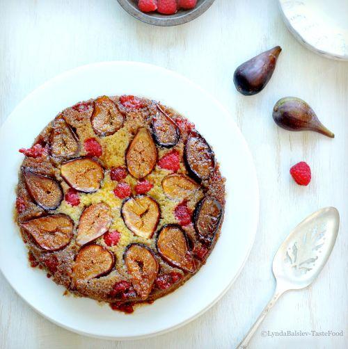 Fig Raspberry Cake TasteFood