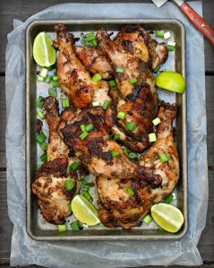 Grilled Jerk Chicken Legs