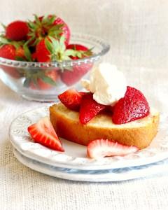 Orange and Coriander Infused Pound Cake Recipe