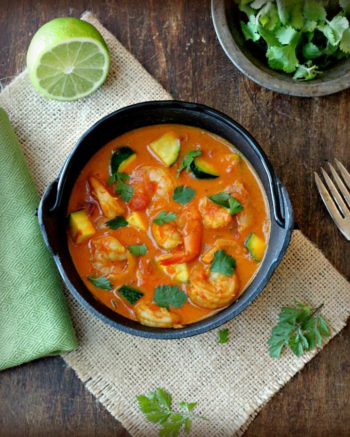 30 Minute Shrimp Curry Stew