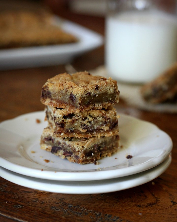 Brown Butter Toffee Bars