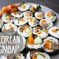 Cách làm Kimbap Hàn Quốc