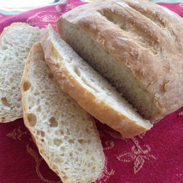 Easy No Knead Homemade Bread