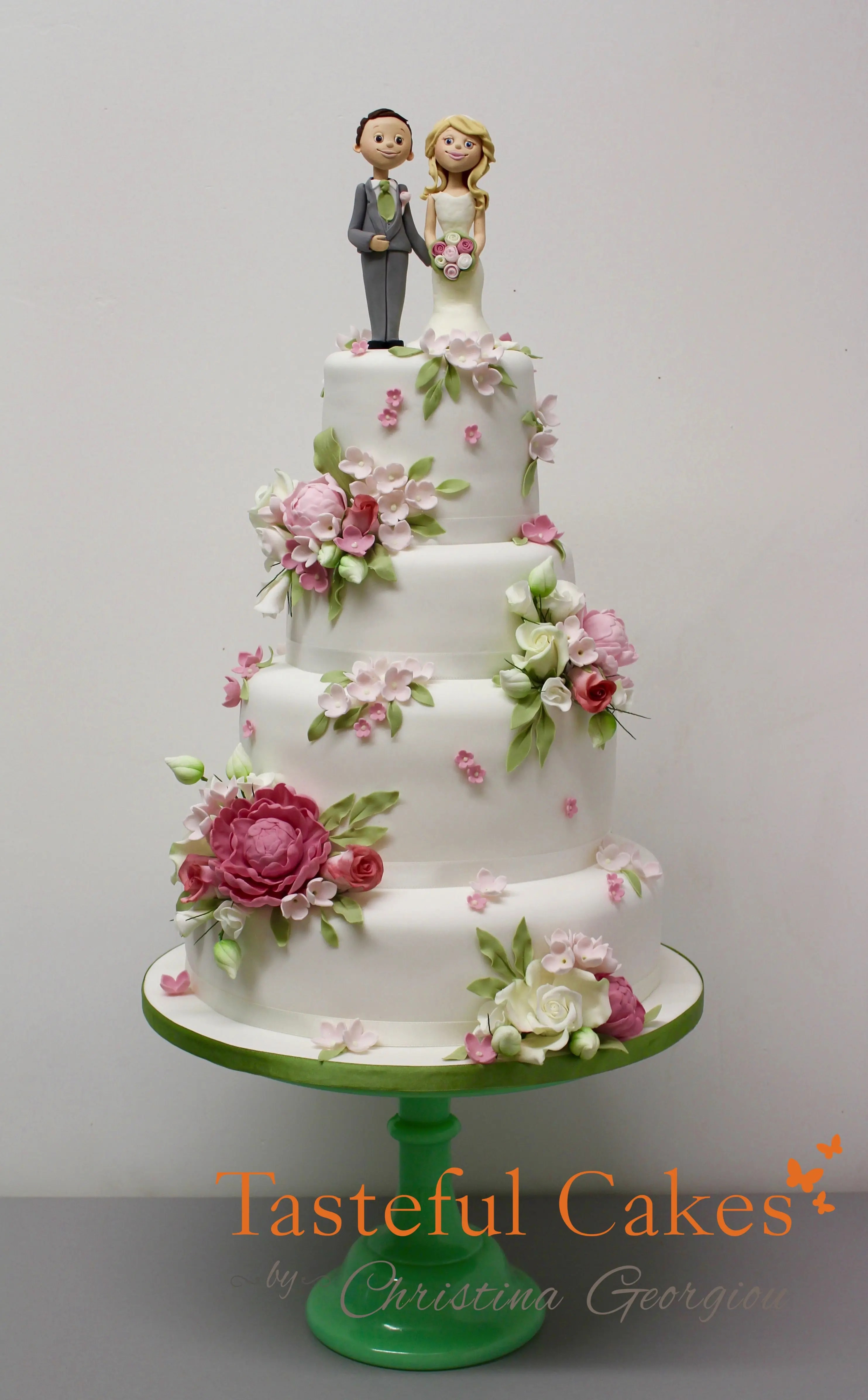 Tasteful Cakes By Christina Georgiou A Pastel Scattered