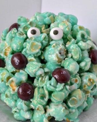 A Disney Treat: Monsters Inc. Popcorn Balls