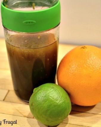 Citrus Vinaigrette: A great way to add a little zest to your salad