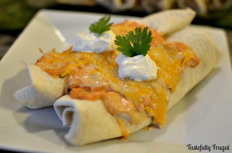 Honey Citrus Chicken Enchiladas: Monthly Ingredient Challenge