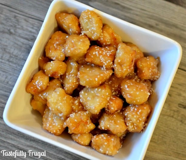 Sesame Chicken: All the flavor and taste of take-out with out the msg