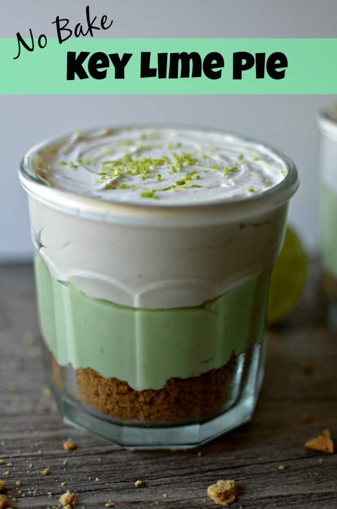 No Bake Key Lime: All you need is a blender!