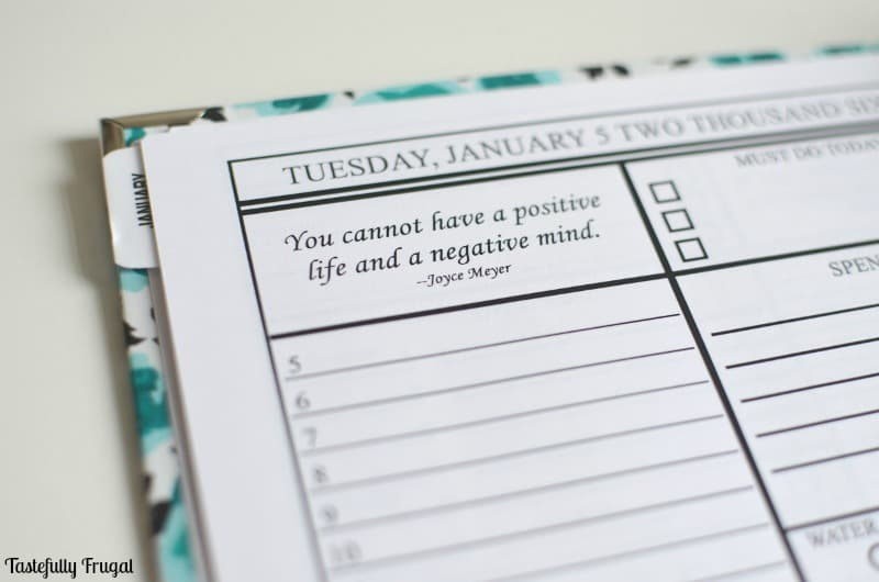Frenchell Hampton Review: The BEST Planner for 2016 | Tastefully Frugal