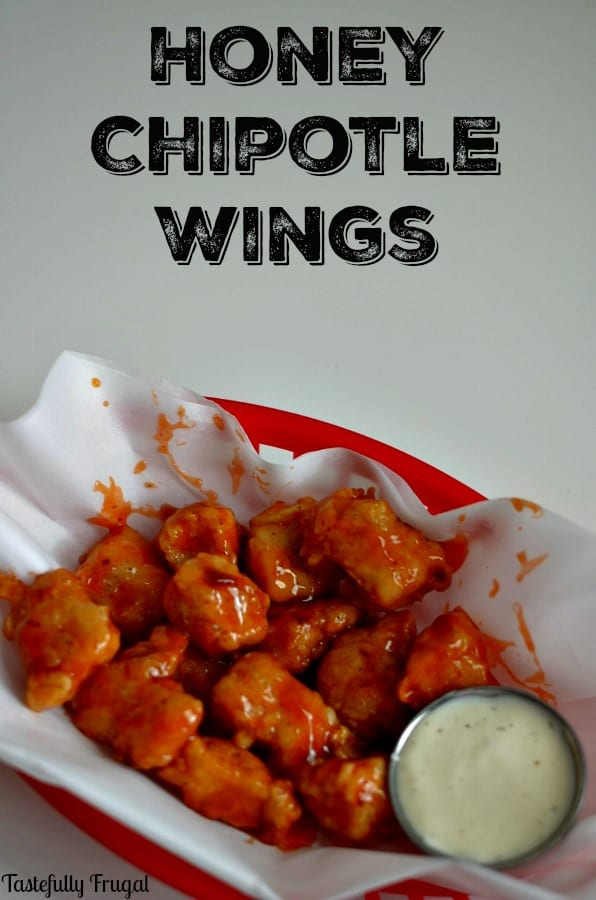 Honey Chipotle Wings: A sweet and spicy appetizer perfect for game day!