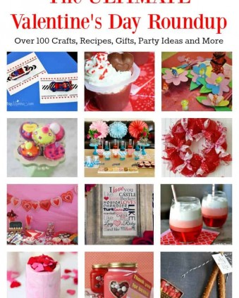 The ULTIMATE Valentine's Day Roundup: Over 100 Crafts, Recipes, Gifts, Party Ideas and More   Tastefully Frugal