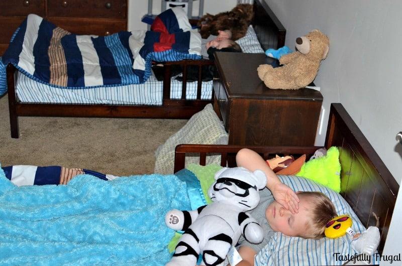 Help Your Kids Fall Asleep & Sleep Through The Night In 4 Easy Steps AD  Tastefully Frugal