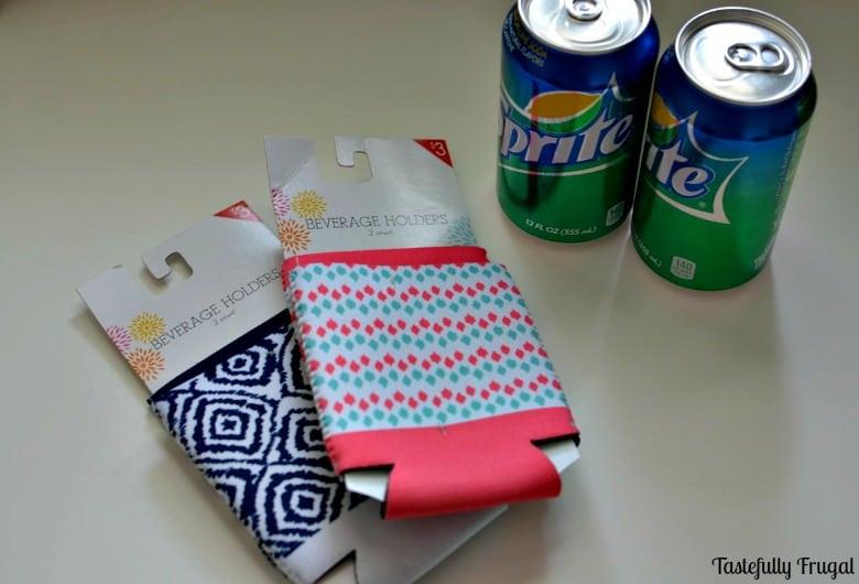 DIY Monogram Can Koozie Teacher Gift: A Perfect Teacher Appreciation Gift for less than $5   Tastefully Frugal