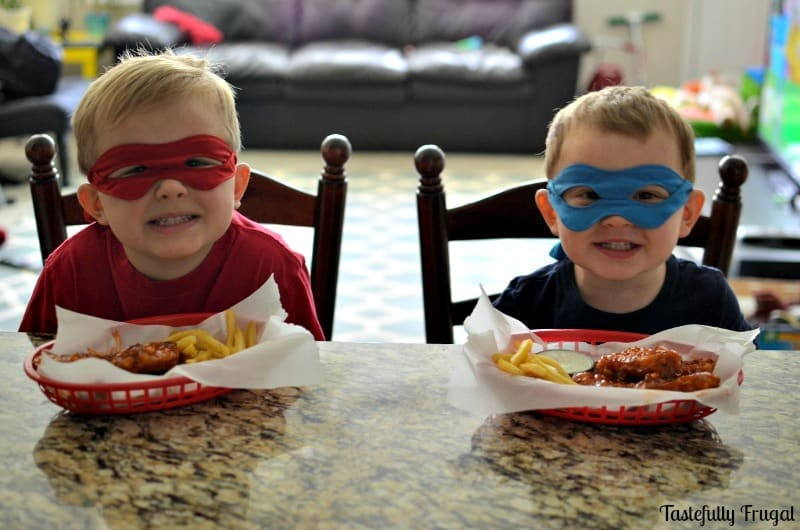 AD Honey Chipotle Chicken Tenders: A 30 Minute Dinner The Whole Family Will Love! #TMNT2andTyson #TMNT2 #CollectiveBias