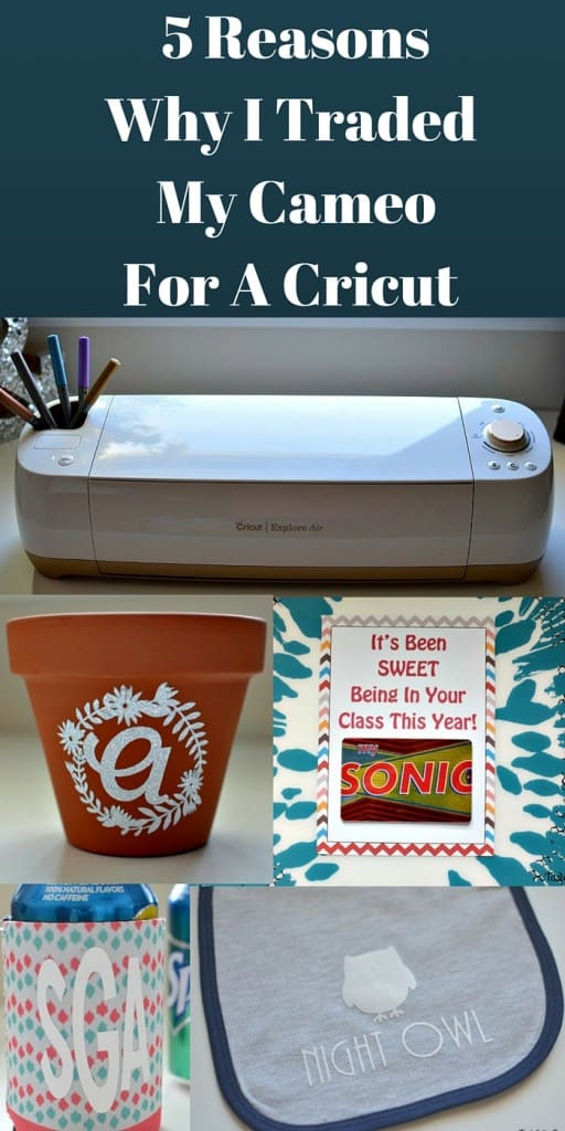 5 Reasons Why I Traded My Cameo For A Cricut Explore | Tastefully Frugal