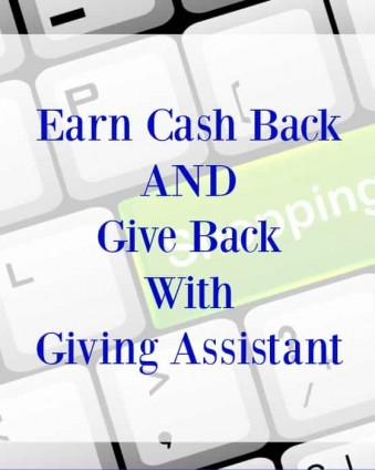 Giving Assistant: Cash Back, Refferal Bonuses, Charitable Donations and More: The Best Way To Do Your Online Shopping | Tastefully Frugal