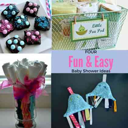 Four Fun & Easy Baby Shower Ideas