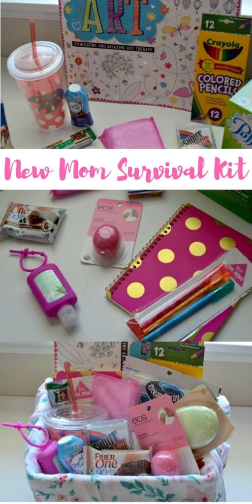 New Mom Survival Kit: Make the first days home with a new baby a little easier with these items | Tastefully Frugal