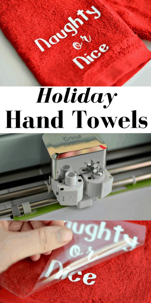 DIY Holiday Hand Towels | Tastefully Frugal AD #CelebrateClean