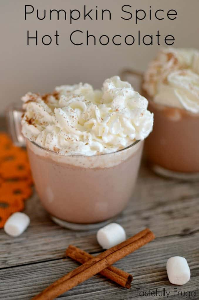 Pumpkin Spice Hot Chocolate: The Perfect Warm Drink For Fall | Tastefully Frugal