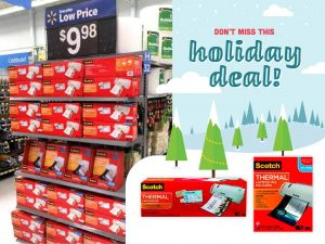 Holiday Deal on Scotch Laminators & Pouches AD #LaminateWithScotch