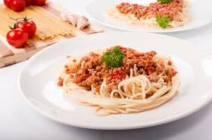 SPaghetti portion