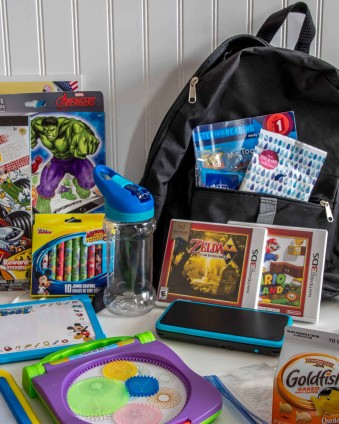 Make sure your kids have everything they need when traveling with these Road Trip Essentials