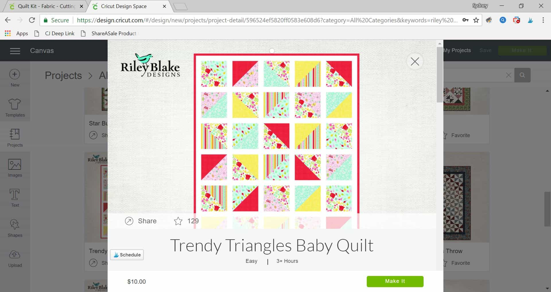 Making quilts is easy with Riley Blake and Cricut! This post goes over all you need to know about picking out your quilt kit, patterns and more! #ad #CricutMade #MyCricutQuilt #RileyBlakeDesigns