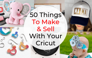 Learn how to make money with your Cricut machine including what to make, how to make it and how to find customers!