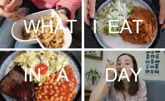 What I Eat In a Day Slimming World Video