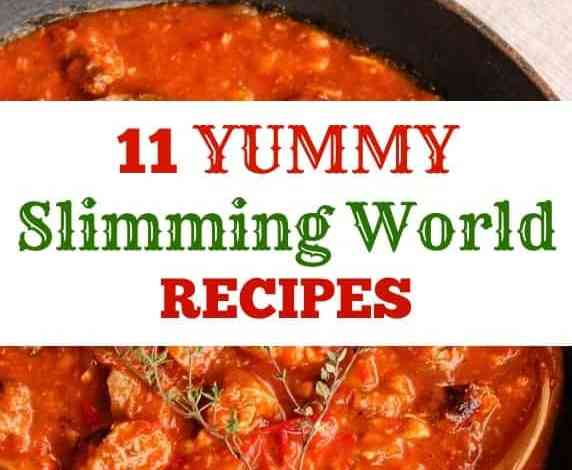 11 Slimming World Recipes from January & February