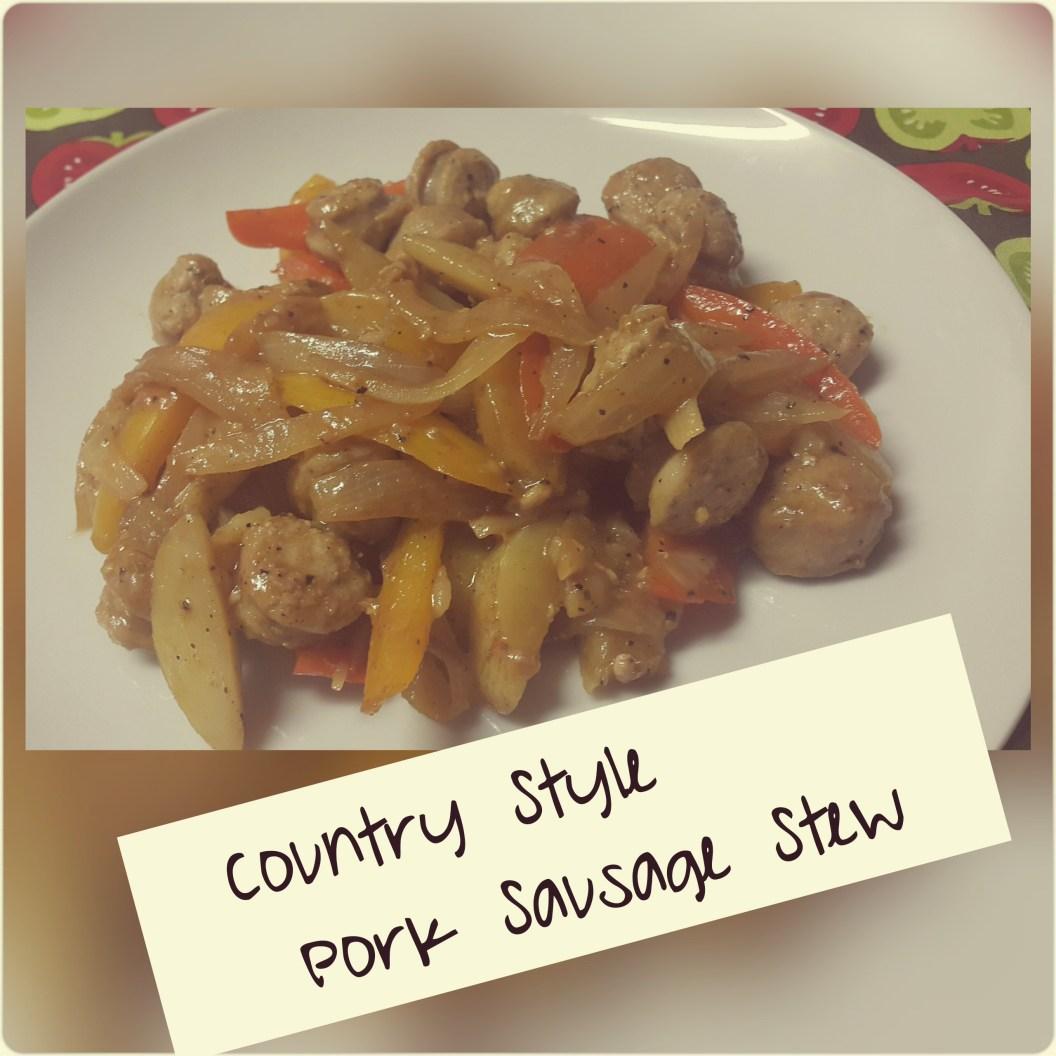 Country Style Pork Sausage Stew