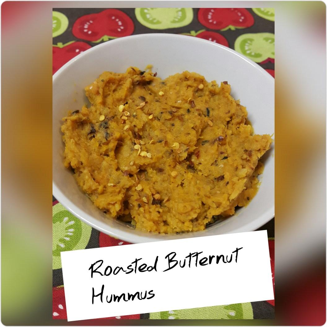 Roasted Butternut Hummus