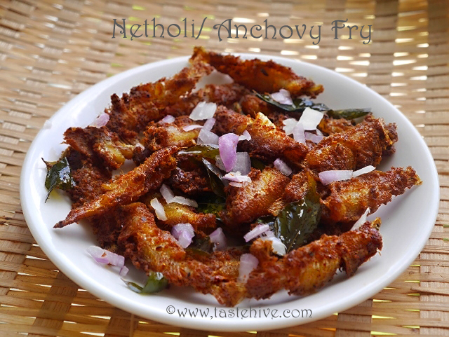 Spicy and Crunchy Netholi(Anchovy) Fry Kerala Toddy Shop Style