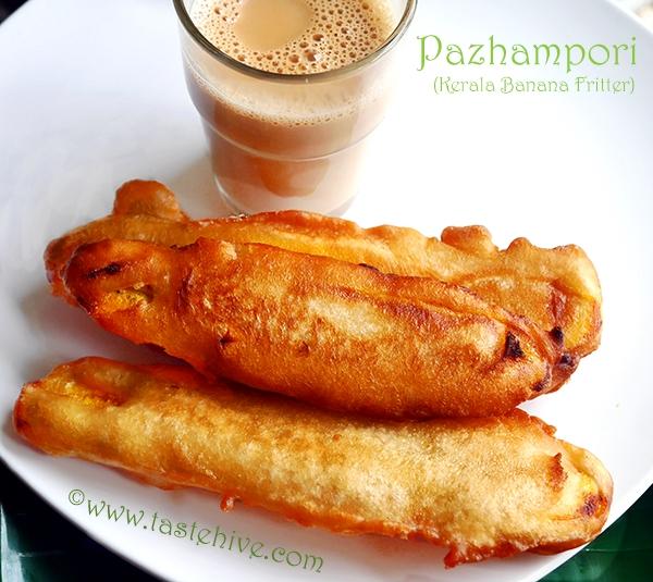 Pazhampori/ Ethakkappam/ Vazhakkappam (Kerala Banana/plantain Fritter)