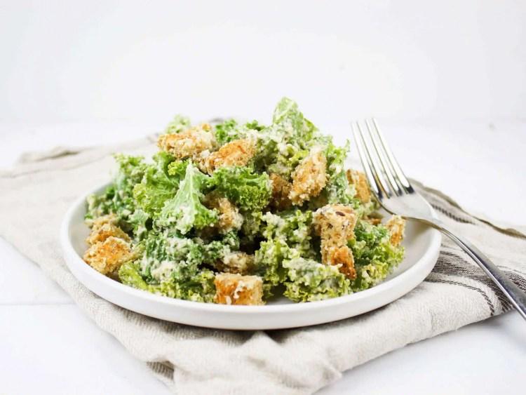 Caesar Salad - a classic veganized