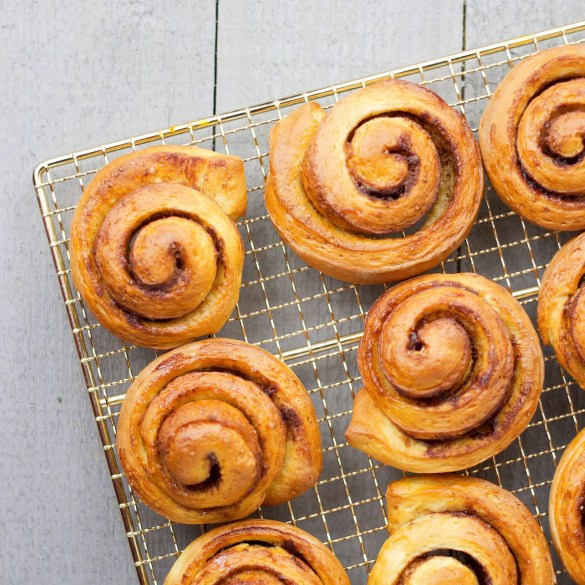 Easy Cinnamon rolls (VeGaN)