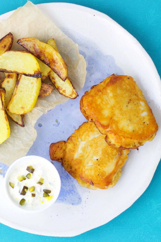 The ultimate fish &chips. (with Desperados)