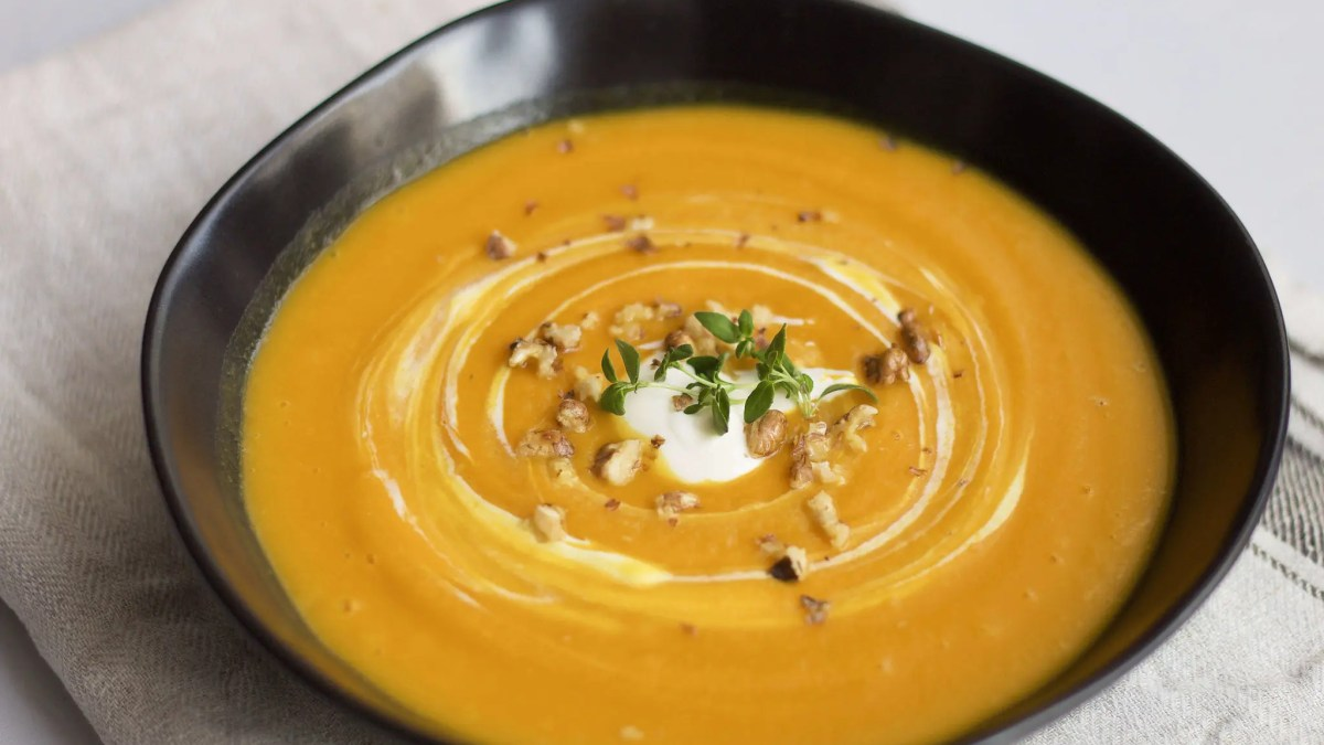 The perfect pumpkin soup.